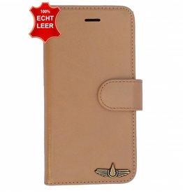 Galata Wallet case iPhone 8 Plus cover echt leer