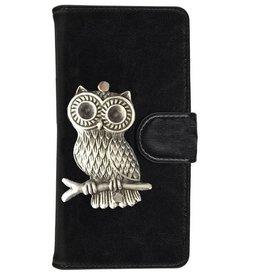 MP Case Samsung Galaxy S5 Neo hoesje uil Zilver