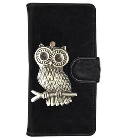 MP Case Samsung Galaxy S8 Plus hoesje uil Zilver