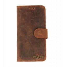 Galata Book case Samsung Galaxy A3 (2017) vintage echt leer
