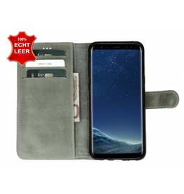 Galata Book case Samsung Galaxy S8 Plus echt leer