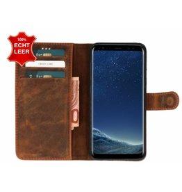 Galata Book case Samsung Galaxy S8 echt leer