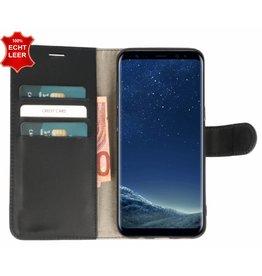 Galata Wallet case Samsung Galaxy S8 cover echt leer