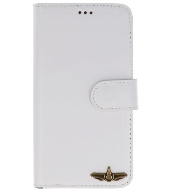 8b2850b33bf Galata Book case iPhone X cover echt leer wit nodig? - Hoesjescases.nl