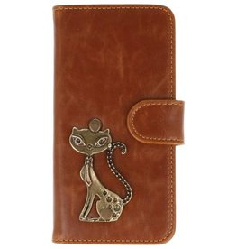 MP Case LG G6 bruin hoesje kat brons