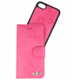 Galata Pu leder 2-in-1 Booklet iPhone 8 / 7 Roze