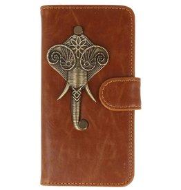 MP Case Sony Xperia XZ Premium bruin hoesje olifant brons