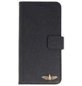 Galata Clear tpu case iPhone X Echt Leer Zwart