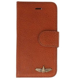 Galata Genua leder iPhone 5 / 5s / SE hard case lizard bruin