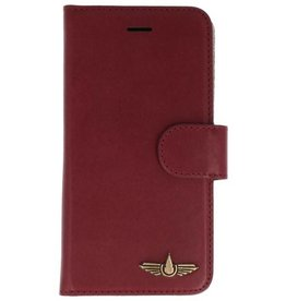Galata Genua leder iPhone 8 / 7 hard case bordeaux