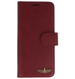 Galata Genua leder Samsung Galaxy S8 hard case bordeaux