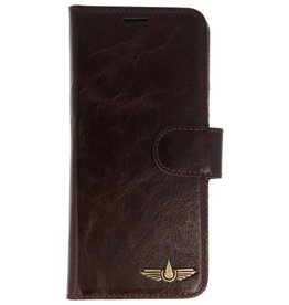 Galata Genua leder Samsung Galaxy S8 hard case dark brown