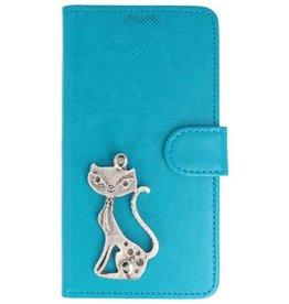 MP Case Samsung Galaxy J5 (2017) turquoise hoesje kat zilver