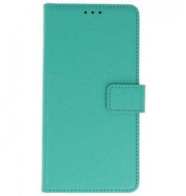 MP Case MP Case Clear tpu iPhone SE / 5 / 5s booktype groen