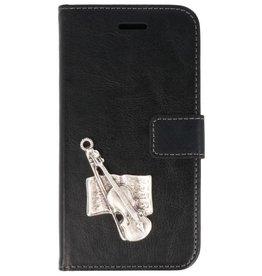 MP Case Samsung Galaxy A5 (2018) hoesje viool zilver
