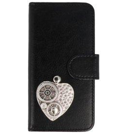 MP Case LG Q8 hoesje hart zilver