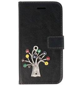MP Case Sony Xperia XA1 Plus hoesje boom zilver