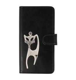 MP Case Sony Xperia XA1 Plus hoesje kat zilver