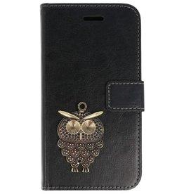 MP Case Sony Xperia XA1 Plus hoesje mini uil brons