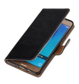 MP Case Zwart bookcase Samsung Galaxy J7 (2016)