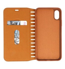 Galata Bruin folio slim booktype iPhone X