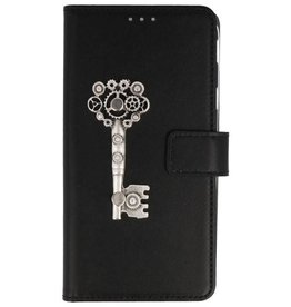 MP Case Huawei P Smart bookcase Key zilver