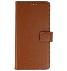 Lelycase Sony Xperia XZ2 Compact Basis bookcase bruin