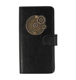 MP Case Sony Xperia XA2  bookcase klok brons