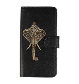 MP Case LG G7 bookcase olifant brons