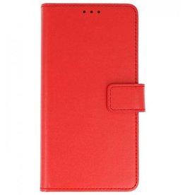 Lelycase Nokia 6 (2018) bookcase basis tpu rood
