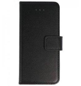Lelycase Nokia 1 Basis TPU bookcase zwart