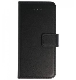 Lelycase Nokia 6 Basis TPU bookcase zwart