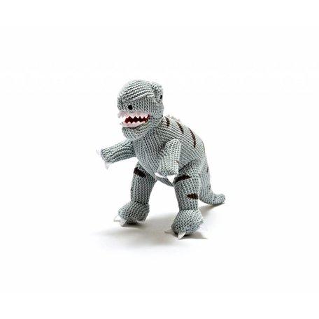 BABY BLUE T-Rex Rattle