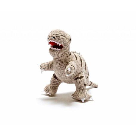 BABY KHAKI T-Rex Rattle