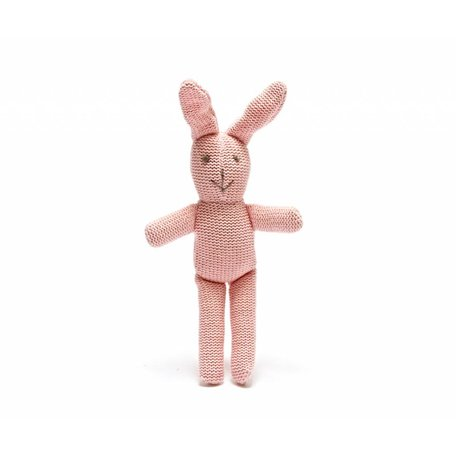 BABY PINK Bunny Rattle