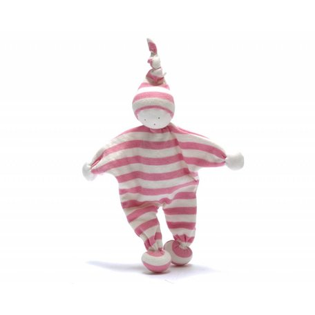 BABY BUDDY Pale Pink Stripe