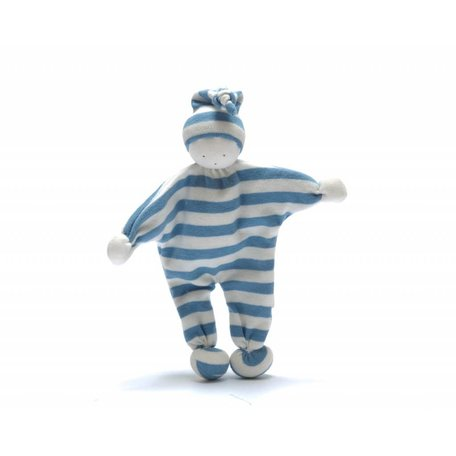 BABY BUDDY Pale Blue Stripe