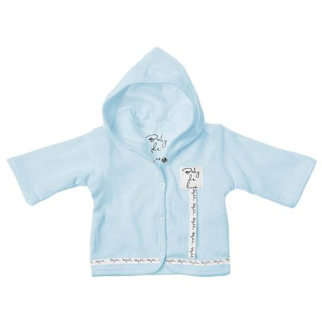 TEDDY FABRIC HOODED CARDIGAN