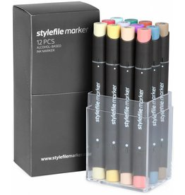 Stylefile MARKER 12er Set Main C