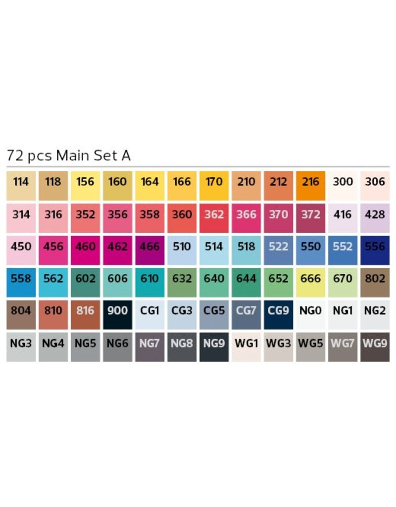 Stylefile MARKER 72er Set Main