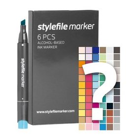 Stylefile MARKER 6er Set Tryout