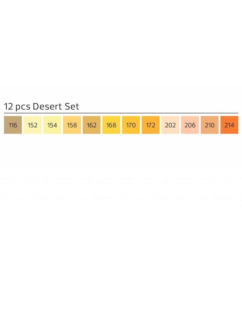Stylefile MARKER 12er Set Desert