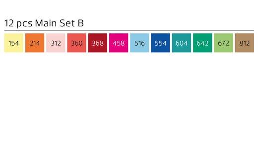 Stylefile MARKER Allround 12er Set Main B