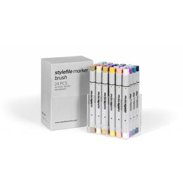 Stylefile MARKER Brush 24er Set Main B