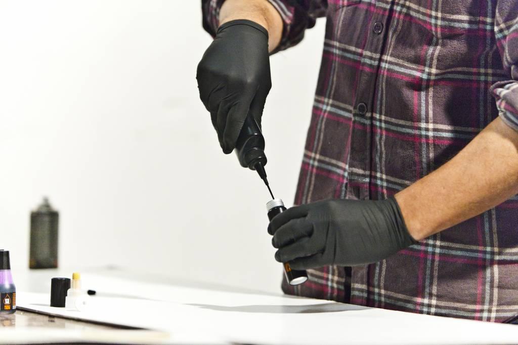 BLACK Dye Ink Refill 200ml FINAL SALE