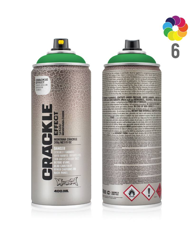 Montana CRACKLE 400ml Effektlack