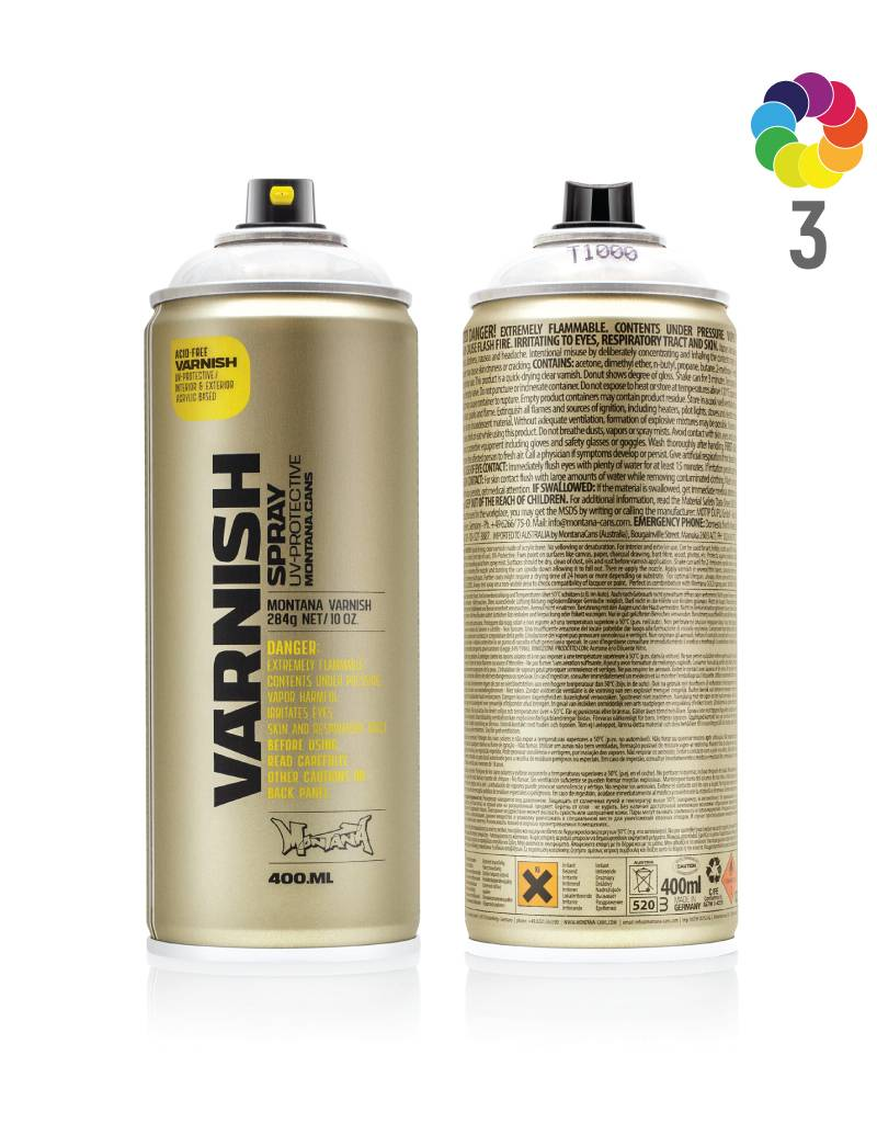 Montana VARNISH 400ml Klarlack