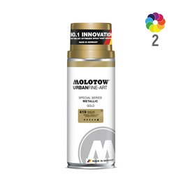 Molotow URBAN FINE-ART Metallic 400ml Sprühdose