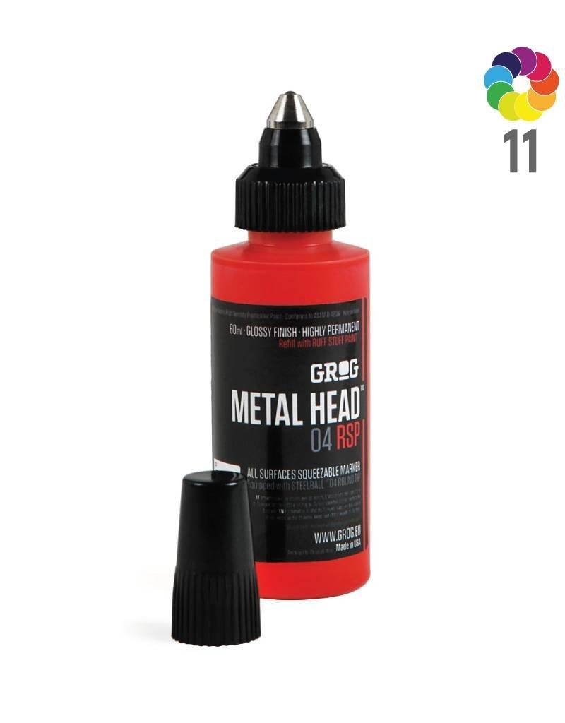 Grog METAL HEAD 4mm Ruff Stuff Paint