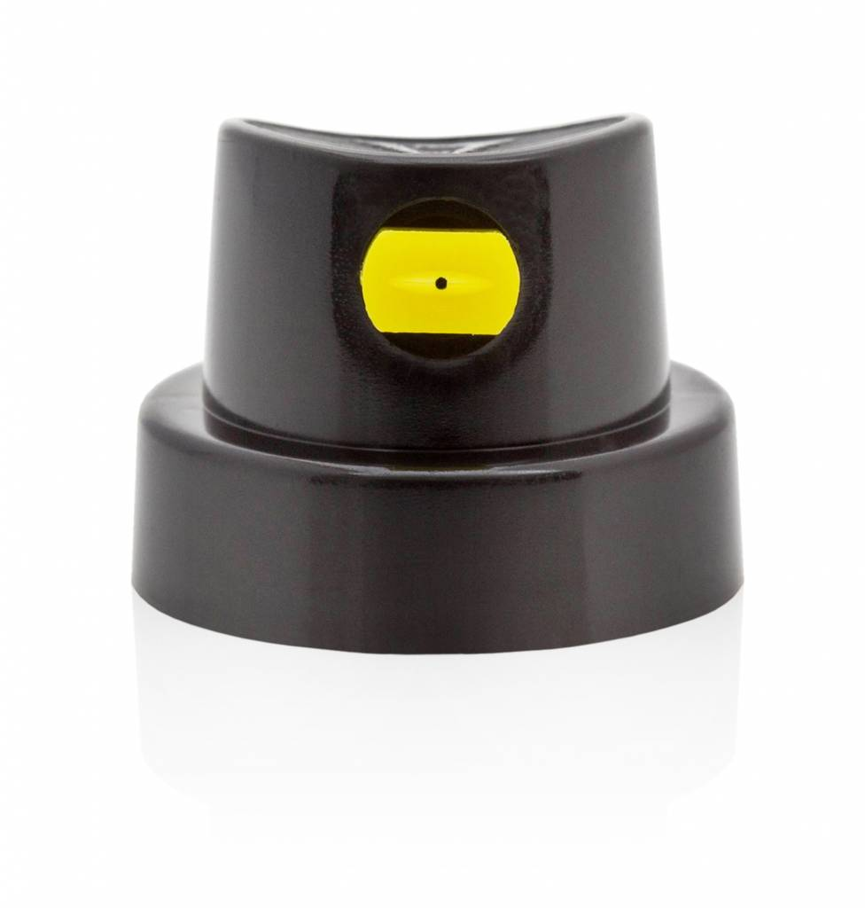 FLAT JET CAP MEDIUM Black/Yellow